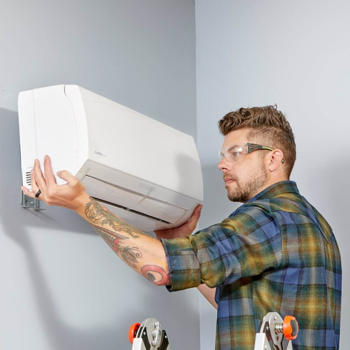 HOW TO HEAT A GARAGE WITH GET A DUCTLESS HEATING AND COOLING