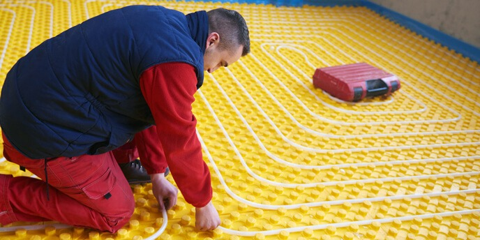 HOW TO HEAT A GARAGE WITH RADIANT HEATING SYSTEM