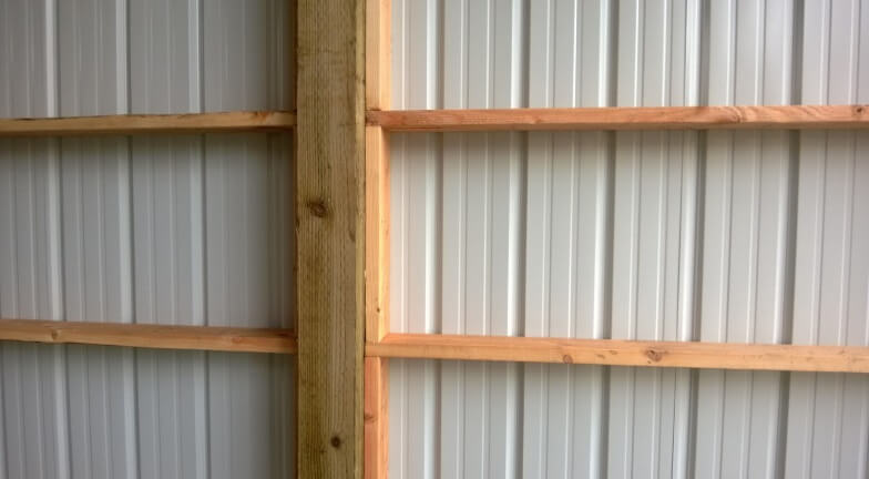 HOW TO BUILD WALL MOUNTED GARAGE SHELVES. 3. ATTACH THE STUDS