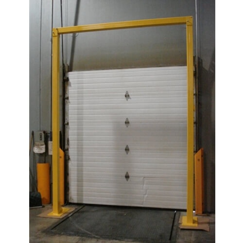 HOW TO FRAME A GARAGE DOOR. INSTALL THE GOAL POST