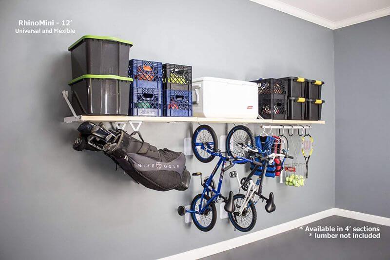 DIY RHINOMINI SHELF KITS GARAGE STORAGE SYSTEM