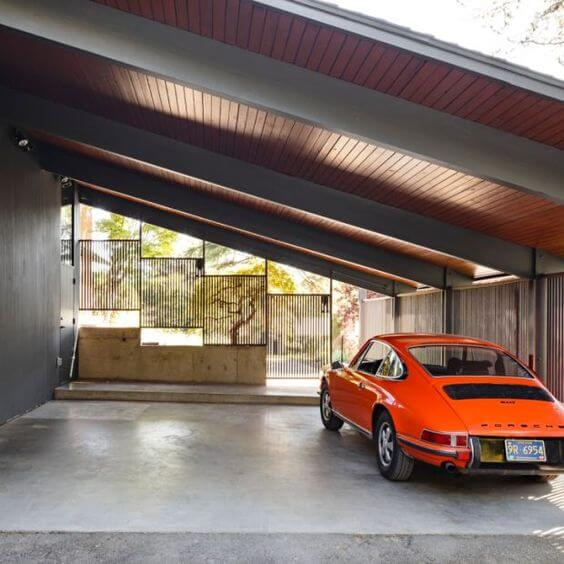 FLAWLESS AND COOL MID CENTURY MODERN GARAGE