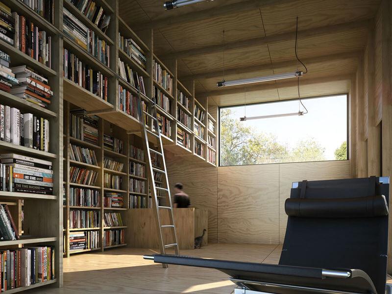 READING ROOM IN THE BONUS ROOMS ABOVE GARAGE
